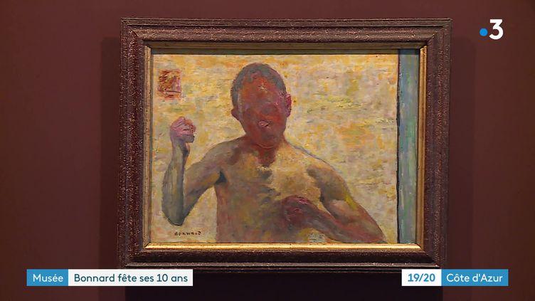Exposition Face à Face au musée Bonnard du Cannet (France 3 Côte d'Azur)