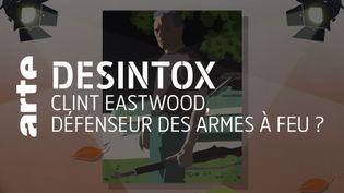 États-Unis : non Clint Eastwood n'est pas un porte-étendard des armes à feu. (ARTE/2P2L)