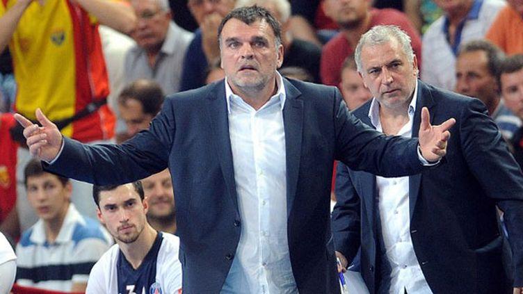 L'entraîneur du PSG handball, Philippe Gardent