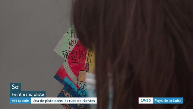 À Nantes, des street-artistes transforment la ville en un musée à ciel ouvert