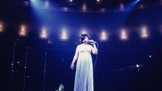La chanteuse Aretha Franklin au Madison Square Garden à New-York, le 28 juin 1968. (WALTER IOOSS JR / HULTON ARCHIVE / GETTYIMAGES)