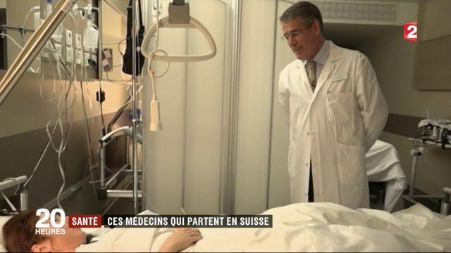 Santé : les médecins français s'exilent en Suisse