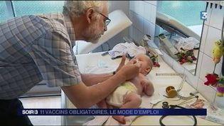 11 vaccins sont désormais obligatoires pour les enfants. (FRANCE 3)