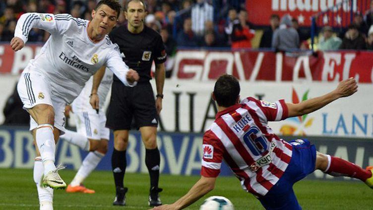 Cristiano Ronaldo a sauvé le Real Madrid (GERARD JULIEN / AFP)