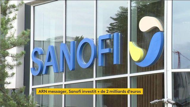 ARN messager : Sanofi investit plus de 2 milliards d'euros