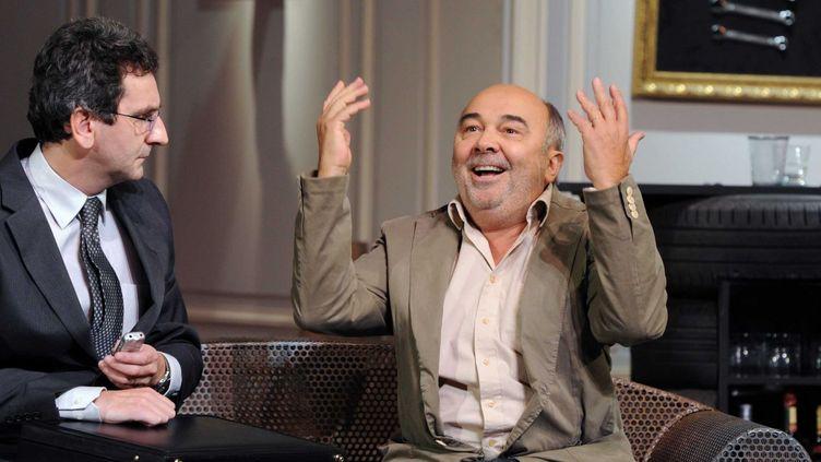 Gérard Jugnot (Fançois Pignon) et L'agent du fisc (Eric Le Roch)  (Delalande/Sipa)