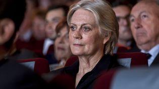 Pénélope Fillon, lors d'un meeting de son mari à Issy-les-Mouligneaux le 3 mai 2016. (VINCENT ISORE/IP3 / MAXPPP)