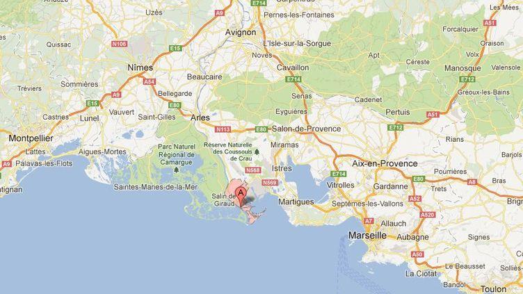Ils étaient partis à la pêche de Port-Saint-Louis-du-Rhône. (GOOGLE MAPS / FRANCETV INFO)