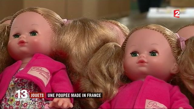 Jouets : une poupée made in France