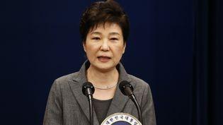 L'ancienne présidente de la Corée du Sud,Park Geun-hye, le 29 novembre 2016 à Séoul. (JEON HEON-KYUN / AFP)