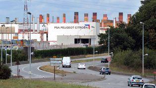 Le site de PSA-Peugeot Citroën à Rennes-La Janais (Ille-et-Vilaine) le 28 août 2012. (THOMAS BREGARDIS / AFP)