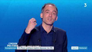 Raphaël Glucksmann, tête de liste PS-Place publique pour les élections européennes (France 3)