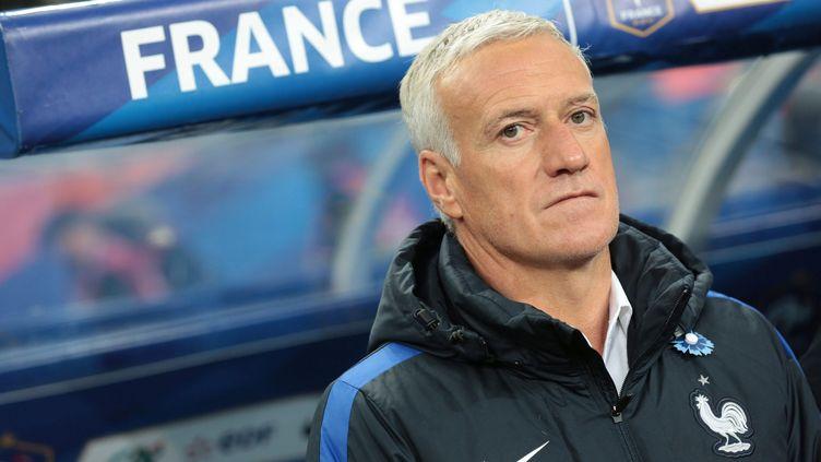 Le sélectionneur de l'Equipe de France Didier Deschamps (FR?D?RIC DUGIT / MAXPPP)
