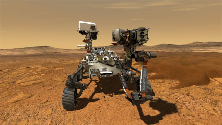 Le robot Perseverance. Image d'illustration. (HANDOUT / NASA / AFP)