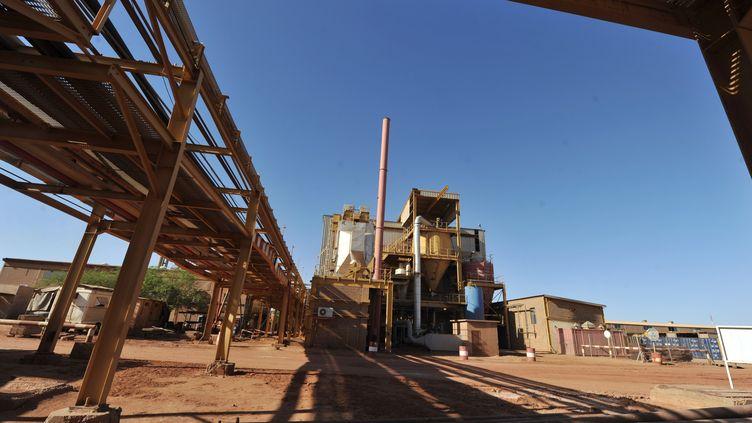 Une usine d'Areva traitant l'uranium au Niger, le 26 septembre 2010 (ISSOUF SANOGO / AFP)