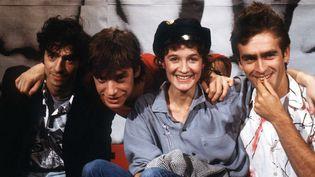 Le groupe de rock Téléphone en 1984  (GINIES/SIPA)