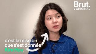 Avec la marque About A Worker, Kim Hou redonne de la valeur au travail des ouvriers du textile (BRUT)