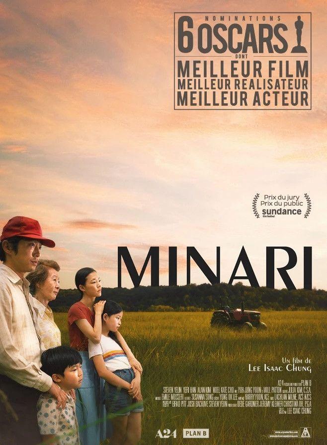 "Affiche du film ""Minari"", deLee Isaac Chung, juin 2021 (ARP)"