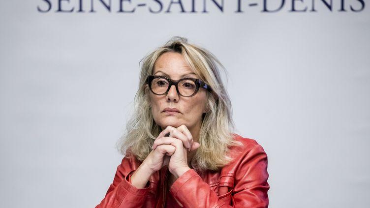 L'avocate Valérie Grimaud à Bobigny (Seine-Saint-Denis), le 5 octobre 2018. (VINCENT ISORE / MAXPPP)