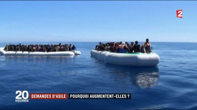 Demandes d'asiles : pourquoi augmentent-elles ?