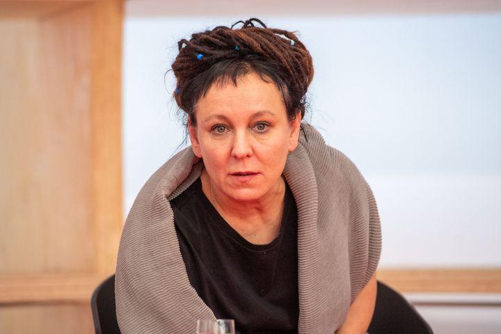 L'écrivaine polonaise Olga Tokarczuk, prix Nobel de Littérature 2018 (ELMAR KREMSER/SVEN SIMON / SVEN SIMON)