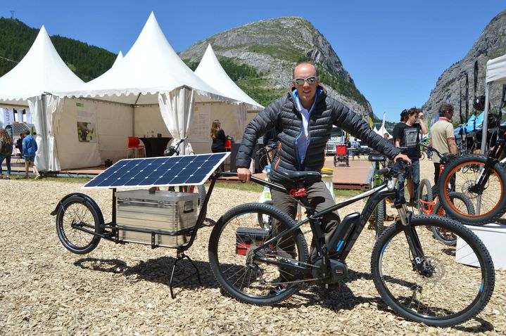 Florian Bailly, organisateur du Sun Trip (©Florian Bailly)