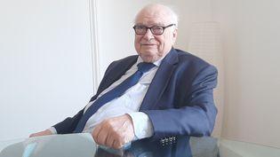 Henri Leclerc, avocat en retraite. (SEBASTIEN BAER / RADIO FRANCE)