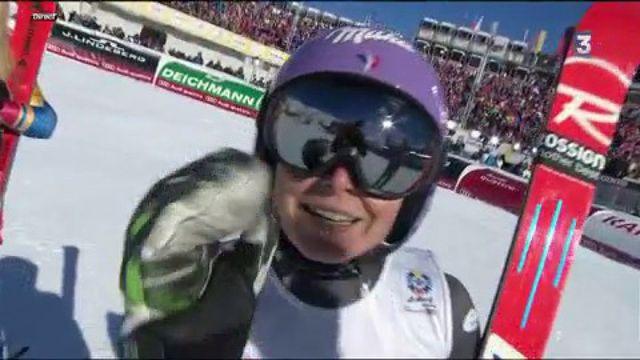 Ski alpin : la Française Tessa Worley championne du monde de géant