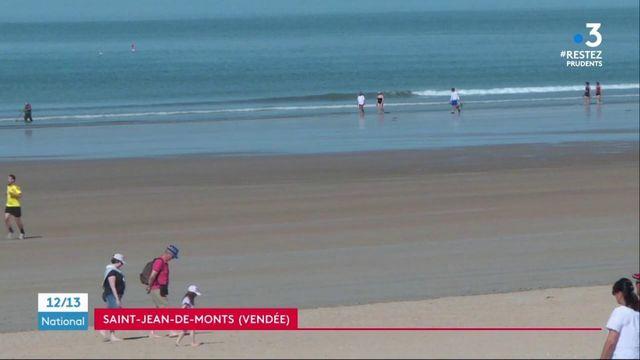 Vendée : retour des baigneurs à Saint-Jean-de-Monts