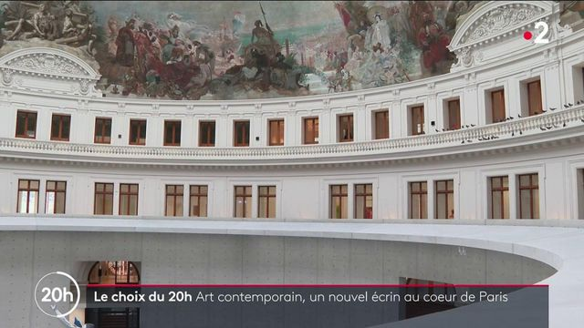 Art contemporain : la collection Pinault s'installe dans l'ancienne Bourse de Commerce de Paris