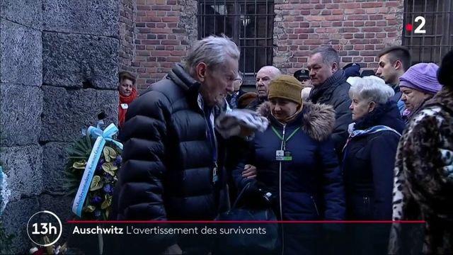 Auschwitz : une cérémonie pour se souvenir