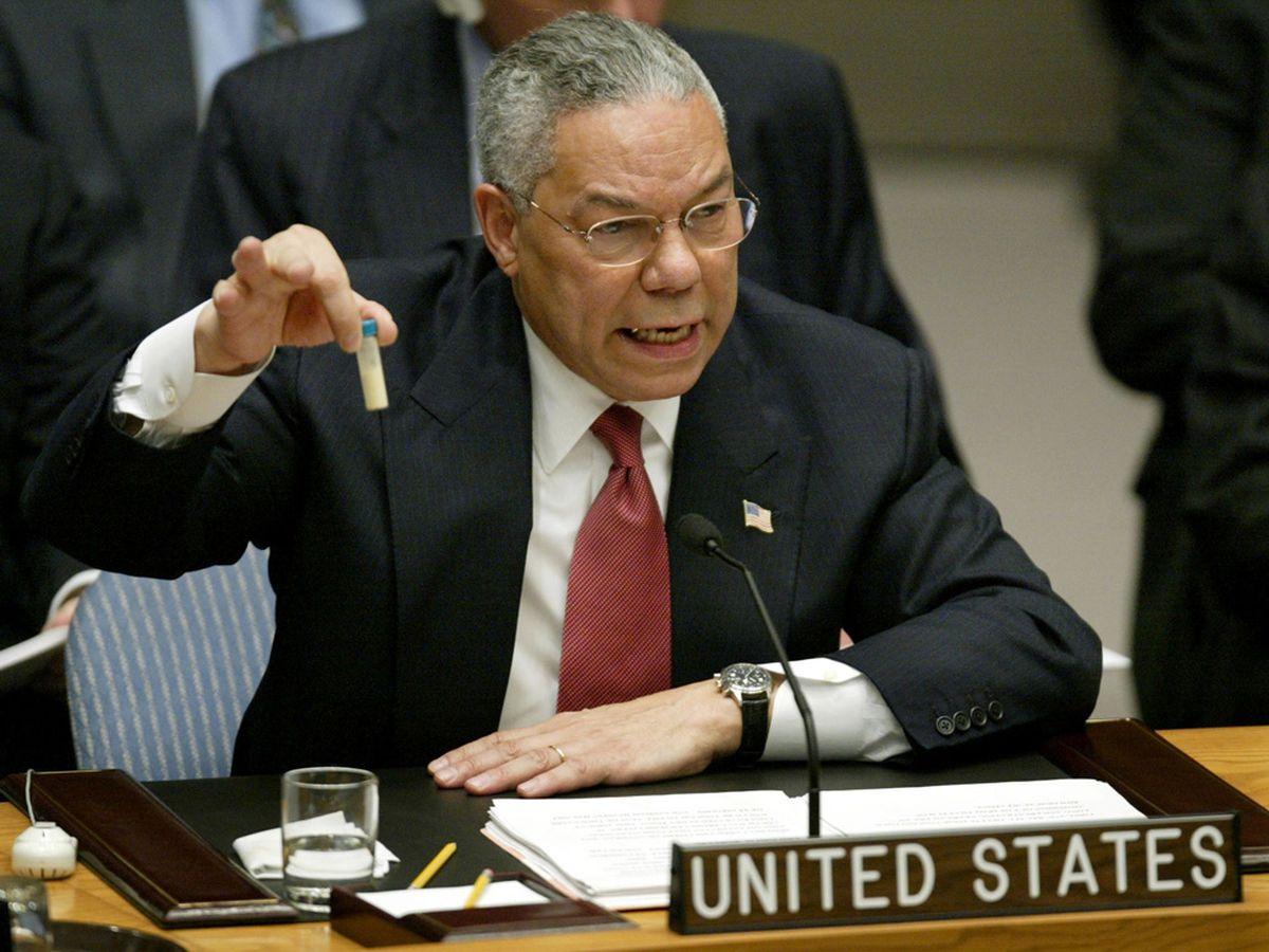 """L'affaire des """"armes de destruction massive"""" irakiennes"""