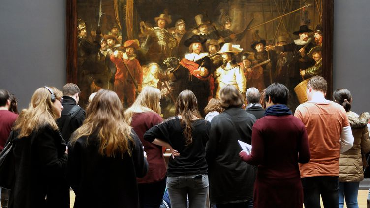 """La Ronde de nuit"", Remrandt, 1642, Rijksmuseum, Amsterdam, 2016  (Jean Bernard/Leemage / AFP)"