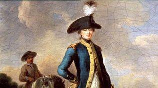 Le marquis Gilbert Motier de La Fayette.  (Capture d'écran France 3 Atlantique )