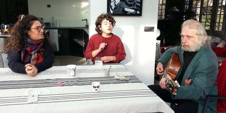 Joana Mendil, Gaya et Dan Gharibian en répétition (9 janvier 2019)  (Ayk Potukyan)