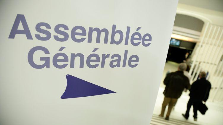 L'attribution de dividendes se décide au cours d'assemblées générales (photo d'illustration). (VINCENT ISORE / MAXPPP)
