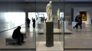 La collection permanente du Louvre-Lens, ici en janvier 2014.  (Daniel Auduc / Photononstop)