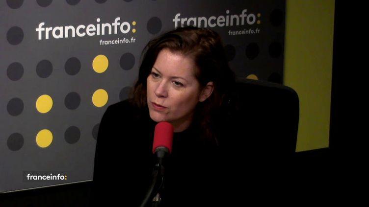 Béatrice Brugère,secrétaire générale du syndicat Unité magistrat FO et anciennejuge antiterroriste. (FRANCEINFO / RADIOFRANCE)