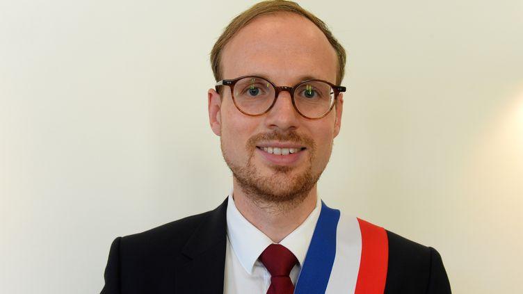 Florian Bercault, le maire de Laval (Mayenne). (JEAN-FRANCOIS MONIER / AFP)