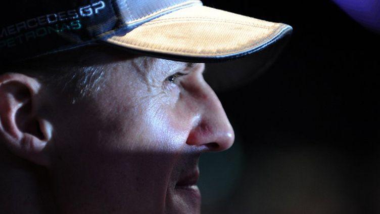 Michael Schumacher (SAEED KHAN / AFP)