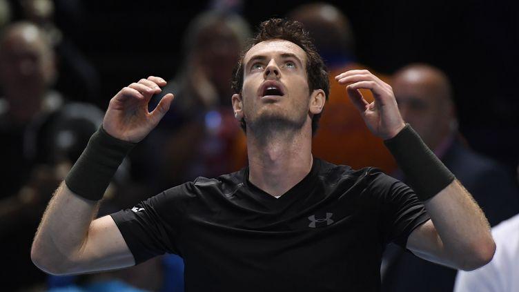 Le tennisman écossais Andy Murray remporte la finales du Masters, à Londres, contre le Serbe Novak Djokovic, dimanche 20 novembre 2016. (REUTERS STAFF / REUTERS)