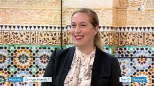 """Michaëlle Gagnet, auteure de """"L'amour interdit"""" au Maghreb (France 3)"""