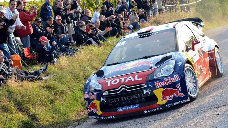 Sébastien Loeb à l'attaque sur les routes alsaciennes