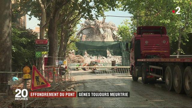Effondrement du pont de Gènes : un an après la ville italienne panse ses plaies