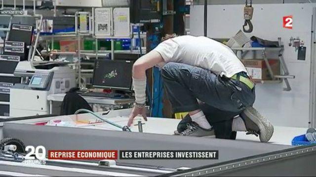 Les entreprises françaises investissent