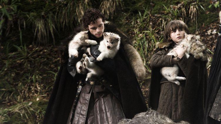 """Le premier épisode de la quatrième saison de """"Game of Thrones"""", très attendu par les fans, a été diffusé dimanche 6 avril 2014 aux Etats-Unis. (ARCHIVES DU 7E ART / AFP)"""