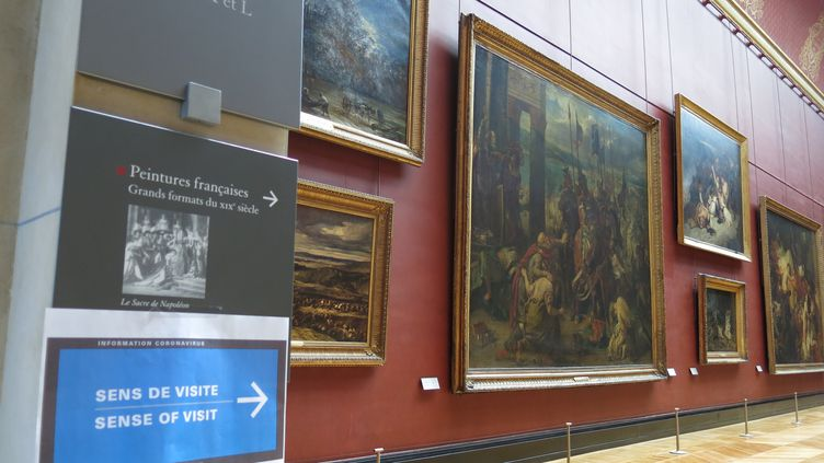 Illustration musée du Louvre. (MARTA GARDE / EFE)