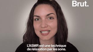 VIDEO - ASMR et relaxation : Sandra nous explique cette méthode de relaxation grâce aux sons  (BRUT)
