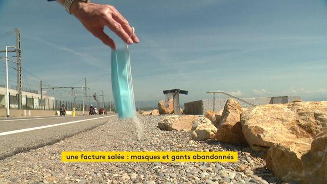 VIDEO. vers une amende de 300 euros pour un masqeu jeté sur la voie publique ?  ?