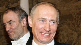 Valéri Guergiev et Vladimir Poutime  (Artyom Korotayev/AFP)